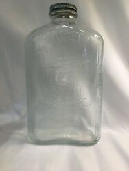 Vintage Antique Refrigerator Water Bottle Wishing Well 1 Quart Buy It Now