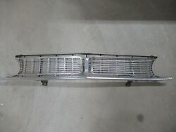Vintage 68 Ford Falcon Grille With Mounting Brackets Oem Original