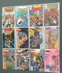 Armorines 1-12 Valiant Comics Missing Issue 0 Vf-nm 8.0-9.0 Or Better