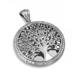 Tree Of Life Pendant 14k Gold Diamonds 0.80 Ct Jewelry By Anbinder Necklace Gift