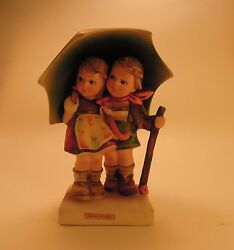 Vintage Stormy Weather Hummel Figurine 71 West Germany With Label Small Bee