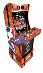 Nba Jam Arcade1up Retro Gaming Cabinet Machine W/ Riser Pick Up Or Drop Off Only