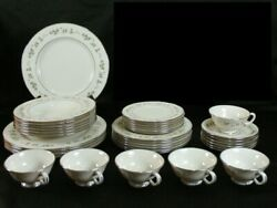 Lenox Brookdale Dinnerware Set 6 Piece Place Settings For 6 Including Soup Bowls