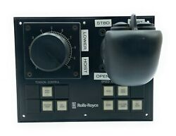 Rolls-royce 386-365-00 Marine And Ship Steering Controller   Waterjet Control Unit