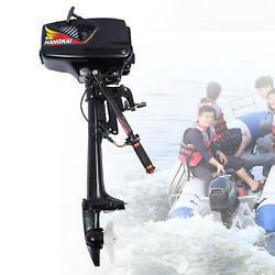 3.6 Hp 2 Stroke Outboard Motor Boat Parts Boat Engine W/ Water Cooling System