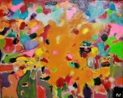 Amazing Painting Colorful Strange Different Abstract Odd Unusual Weird