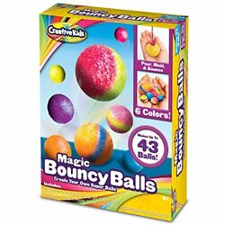 Creative Kids Diy Magic Bouncy Balls-create Your Own Power Craft Kit For 20 Of