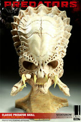 2x Classic And Super Predator Skull Sideshow Collectibles