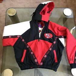 Nfl Pro Player San Francisco 49ers Extremely Rare 1 Of A Kind Jacket Adult Large