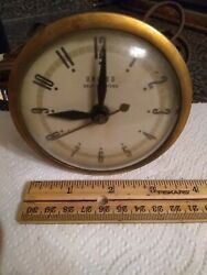 United Horse Clock Electric Works. Parts Or Repair Self Starting Movement.