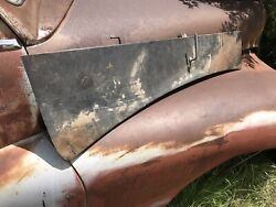 1937 Pontiac Right Hood Side - Parting Out Car