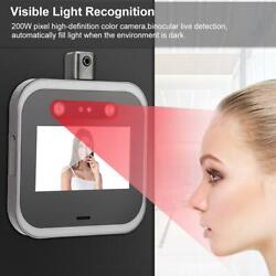 Wifi Face Recognition Time Attendance Clock Access Control Body Temperature Test