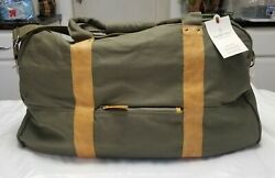 Hearth And Hand Magnolia Tote Canvas amp; Leather Weekender Large Bag $29.95