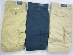 Menand039s Big And Tall Polo Cargo Shorts