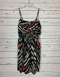 Ecote Urban Outfitters Women's L Large Black Sleeveless Cute Summer Fall Dress $28.00