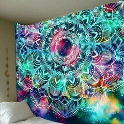 USA Hippie Tapestry Art Room Wall Hanging Psychedelic Tapestries Mandala Decor