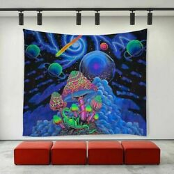 USA Hippie Psychedelic Tapestry Wall Hanging Blanket Art Home Decor Tapesties