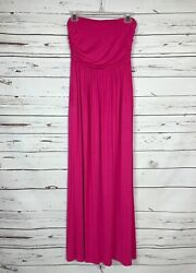 Boutique 143 Story Women's S Small Pink Strapless Cute Long Maxi Dress NEW TAGS $20.00