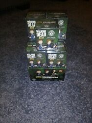 Funko Mystery Minis The Walking Dead Series 4 - Lot Of 15 Sealed Figures