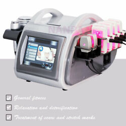 5in1 Cold Laser Slimming Fat Cavitation Radio Frequency Cellulite Reduce Machine