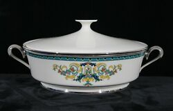 Rare Discontinued Lenox China Fair Lady Covered Casserole New