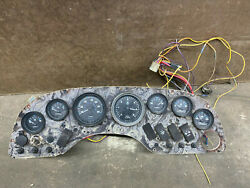 1998 Chaparral 200 Le Boat Dashboard Instrument Panel With Gauges