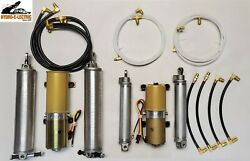 New 1966-1967 Lincoln Continental Complete Convertible Hydraulic Kit-made In Usa