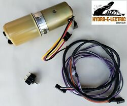 New 1969 Chevelle/malibu Convertible Top Motor Pump W/ Oe Style Switch And Wiring