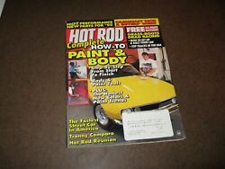 Hot Rod magazine March 1995 How to Paint & Body Grass Roots Drag Racing