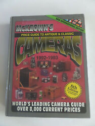Price Guide To Antique And Classic Cameras, 1992-1993 1992, Hardcoverbk9