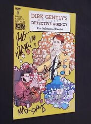 Dirk Gently Salmon Of Doubt 1 Convention Exclusive Signed Landis Barnett Dourif