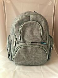 CoolBELL Backpack Diaper Bag Gray Many Pockets 16quot; $29.95