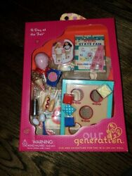 New Nib A Day At The Fair Our Generation 18 Doll Acc American Girl