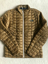 The North Face Men's Thermoball Jacket NWT Dijon Brown XL $99.99
