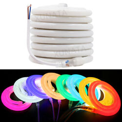 12v Flexible Led Neon Strip 2835 Waterproof Sign Neon Light Silicone Tube 1-100m