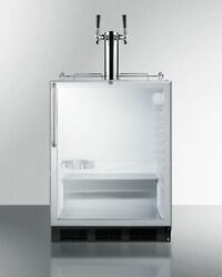 Summit Sbc56gbicssada 24and039and039 Wide Built-in Beer Dispenser - Glass Ss