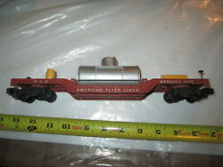 S Scale American Flyer 948 Track Cleaning Car. Missing Cleaner.
