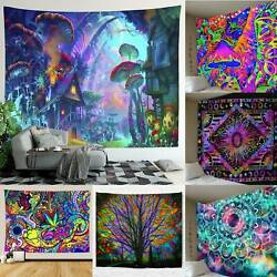Home Tapestry Wall Hanging Bedspread Throw Cover Indian Mandala Blanket Decor
