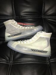 Off White X Chuck 70 Andlsquothe Tenandrsquo Size 8.5