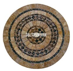 42 Mosaic Marble Hallway Table Stone Jasper Inlay Stone Outdoor And Home Decor