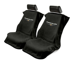 2 - Seat Armour Seat Protector Cover/towel W/ Chrysler Logo