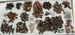 Bulk Lot Of 576, Wooden Handles, Drawer Pulls And Knobs Circa 1880 To 1999