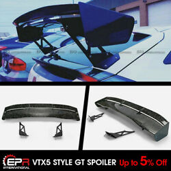 For Honda Civic Fk7 Fk8 Vtx5 Style Forged Carbon Look Rear Trunk Gt Spoiler Wing