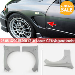 Frp Cs Style Front Fender Bodykits 2pcs For 98-05 Lexus Is200 Rs200 Xe10 Altezza