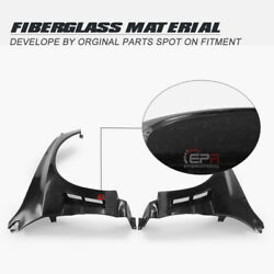 Ap Style Frp Unpainted Wide Body Front Fender +40mm Kits For Mitsubishi Evo 8 9