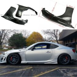 For 12-16 Toyota Ft86 Gt86 Frs Frp Unpainted Vf Style Front Fender Wider +20mm