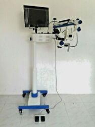 4x 6x 10x 20x 25x 5 Step Dental Surgical Operating Microscope With Live View