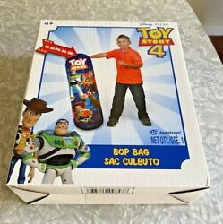 New Disney's Toy Story 4 Bop Bag In Box 36 Hedstrom Free Ship
