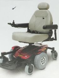 Pride Jazzy Select And0396 Ultra Power Elevating Seat Mid Wheel Electric Wheelchair