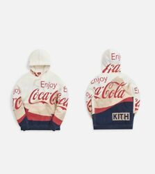 Kith X Coca Cola Mountains Hoodie Mens Size S Small Rare Sold Out Nwt